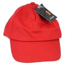 Complementos de niña de color principal rojo de poliéster
