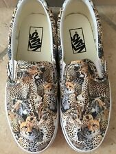 Vans Scarpe Slip-On Donna/Women Originale Animalier Tg.39
