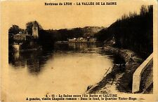 CPA La Saone entre l'Ile Barbe et Caluire (444311)