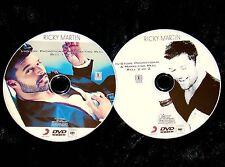 RICKY MARTIN Promo 46 Music Videos 2 DVD Set Reel Menudo FREE SHIP Latin Artist