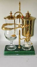 ODETTE VINTAGE BALANCE COFFEE MAKER 0.8 LITRE IN VGC GOLD PLATED SWISS MADE