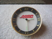 """MSC Collectible Working Desk Top Clock """" GREAT COLLECTIBLE USEABLE ITEM """""""