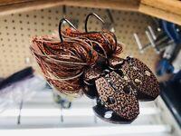 2 Bluegrass Custom Tackle's Bladed Jigs-Vibrating-Swim Jigs (Copperhead) 1/2oz