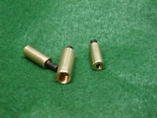 Ramrod/Cleaning Rod Thread Adapter Kit 3 Pcs Brass New For Muzzleloaders