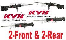4-KYB Excel-G Struts/Shocks(2-Front & 2-Rear)Dodge Caliber Jeep Compass,Patriot