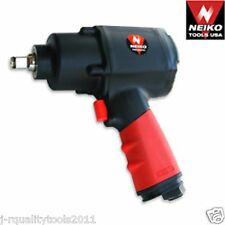 "1/2"" DRIVE TWIN HAMMER DR AIR POWERED POWER COMPOSITE IMPACT SOCKET WRENCH TOOL"