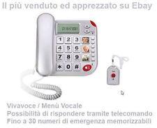 Telefono Brondi per Anziani SOS Salvavita Teleallarme Telesoccorso Vivavoce