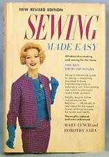 Sewing Made Easy Book Mary Lynch & Dorothy Sara 1000 Pictures 1960 Fashion