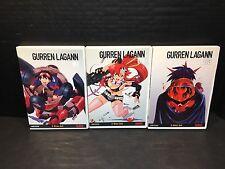 Gurren Lagann - Complete Series Set 1 2 3 - (DVD, 6-disc Set) Anime Collection