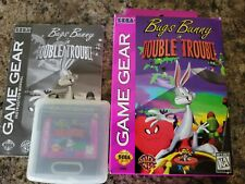 1x Bugs Bunny Double Trouble Complete Sega Game Gear