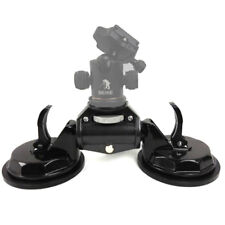 Car Two Suction Cups Video Stabilizer Mount Stand For DSLR Camera Camcorder