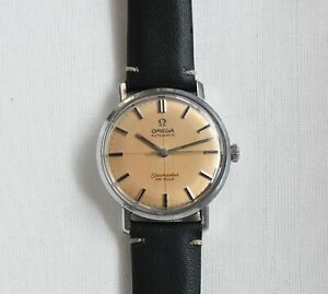 Omega Seamaster DeVille Crosshair Dial Copper Patina Watch - NO RESERVE