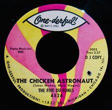 Los cinco Du-Tonos ~ el pollo astronauta ~ más Raro Funk-DOO WOP DJ 45-onederful #4824