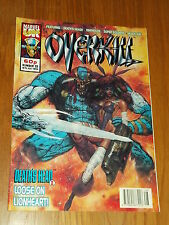OVERKILL #33 MARVEL BRITISH MAGAZINE 16 JULY 1993 WARHEADS DEATHS HEAD II^