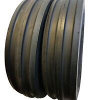 7.50-16 (TIRES + TUBES) 6 PLY ROAD WARRIOR KNK-35 3-Rib Farm Tractor 7.50x16