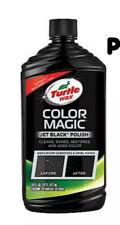Jet Black New Formula Of Turtle Wax Color Magic Polish Wash Car Paint