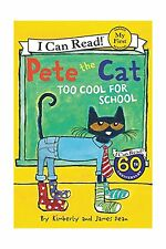 Pete the Cat: Too Cool for School (My First I Can Read) Free Shipping