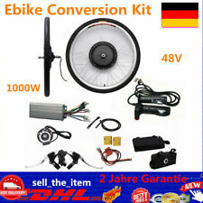 "26"" Hinterrad E Bike Conversion Kit 48V 1000W Ebike Elektrofahrrad Umbausatz Set"