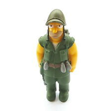 Figurine Collection The Simpson Homer IN Soldier G. I.9 CM