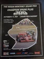 1987 Nissan Monterey Grand Prix Program Champion Spark Plug 300 AF