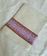 Biancheria di lino Tè, a mano, Asciugamano da cucina (SIRTAKI ROSA)