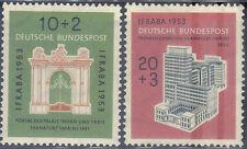 BUND 171-72 ** Ifraba  1953,   einwandfrei postfrisch