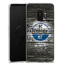 Samsung Galaxy S9 Silikon Hülle Case - SC Paderborn Holz