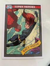 Black Widow Marvel Fleer Retro 2015 Impel Marvel Universe insert #2