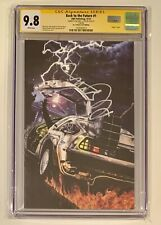 BACK TO THE FUTURE #1 • CGC SS 9.8 • MICHAEL J FOX • JJ's COMIC VARIANT IDW