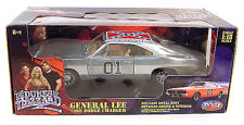 DUKES OF HAZZARD CHROME GENERAL LEE 1:18 RARE DIE CAST CAR MOVIE TOY COLLECTIBLE
