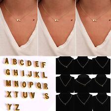 NEW Charm Pendant Necklace Cute Women 26 Initial Letter Heart Chain Alphabet