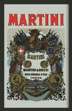 Martini Mirror Wall Mirror, bar, Party Basement, bar, 20x30cm