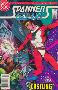 Spanner's Galaxy #1 (Newsstand) FN; DC   save on shipping - details inside