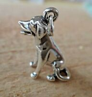 Sterling Silver 19x17mm Cut out 13 13th in a Heart Birthday Charm