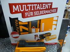 Gizeh Vario Stopfer, Stopfmaschine im Starter- Set 2x Hülsen+ Flip Case,Toppreis