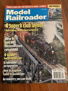 Model Railroader July 2002