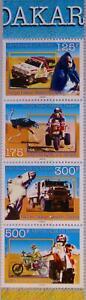 NIGER 1997 1268-71 A 942b Dakar Agades Dakar Rally Cars Trucks Autorennen MNH