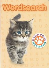 WORDSEARCH PUZZLE BOOK 138 PUZZLES & SOLUTIONS PAPERBACK KITTEN COVER