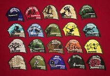 BSA  2013 NATIONAL SCOUT JAMBOREE PROMO TENT PATCHES LOT SET OF 20