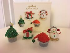 Hallmark Keepsake Ornaments (4) Holiday Confections: The Merry Bakers 2006