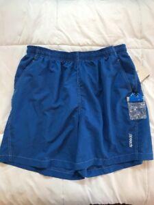 New Men's Speedo Royal Blue Swim Trunks XL