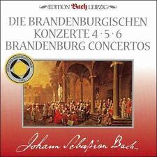 Eckart Haupt : Bach: Brandenburg Concertos 4-6 CD