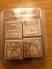 Stampin' Up! Stamp Set - Festive Four