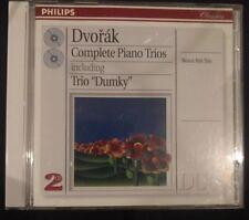 Dvorak: Complete Piano Trios - Beaux Arts Trio, 2 CD set, Phillips Classics