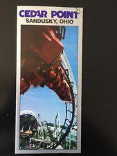1985 Cedar Point Amusement Park Brochure/Pamphlet featuring Avalanche Run