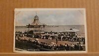 Postcard unposted Sussex, Worthing - band stand Undivided back