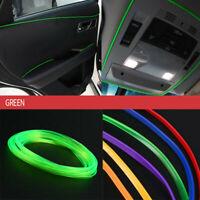 1x5m Car Flexible Interior Moulding Decorative Strip Trim Line Accessories Green
