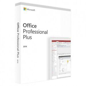 Angebot Microsoft Office 2019 Professional Plus Retail für 1 PC