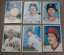 1981 topps Super Giant home team  5X7 photos complete set -Boston Red Sox