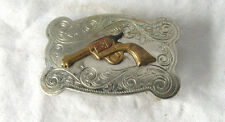 Vintage Colt 45 Chambers Buckle Co. Belt Buckle